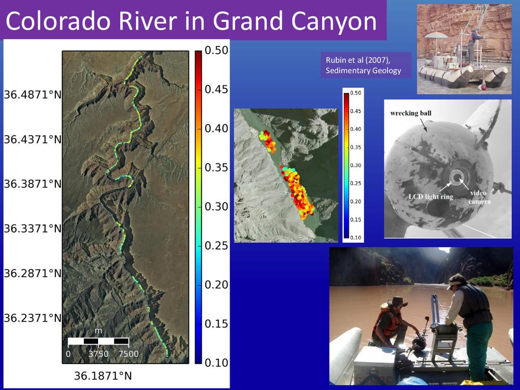 Colorado River in Grand Canyon Rubin et al (200...