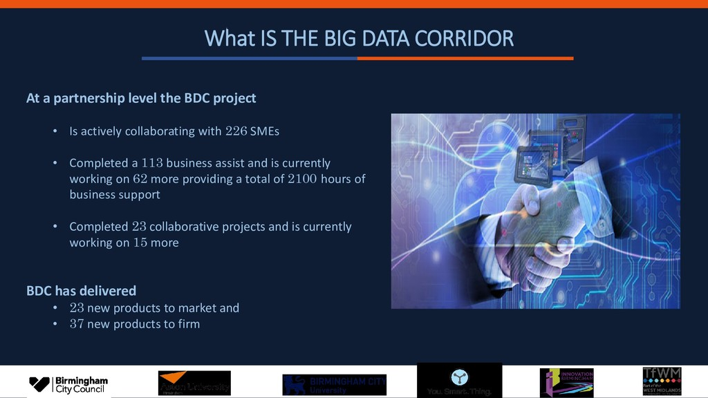 What IS THE BIG DATA CORRIDOR At a partnership ...