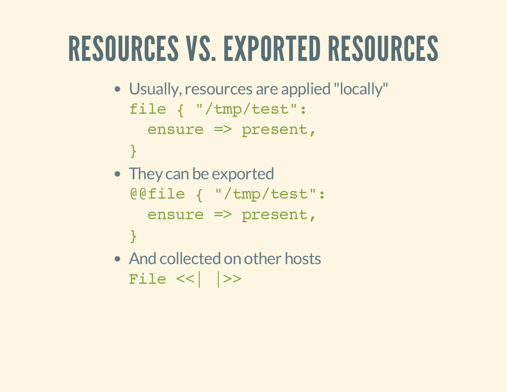 RESOURCES VS. EXPORTED RESOURCES Usually, resou...