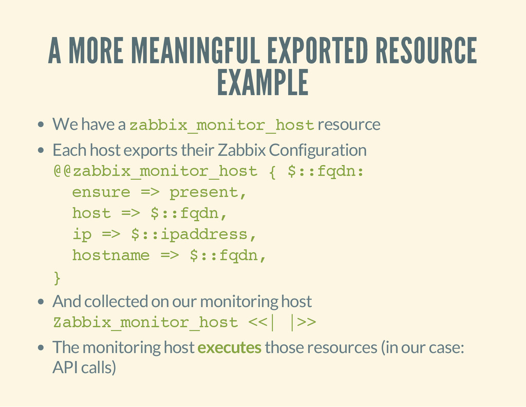 A MORE MEANINGFUL EXPORTED RESOURCE EXAMPLE We ...