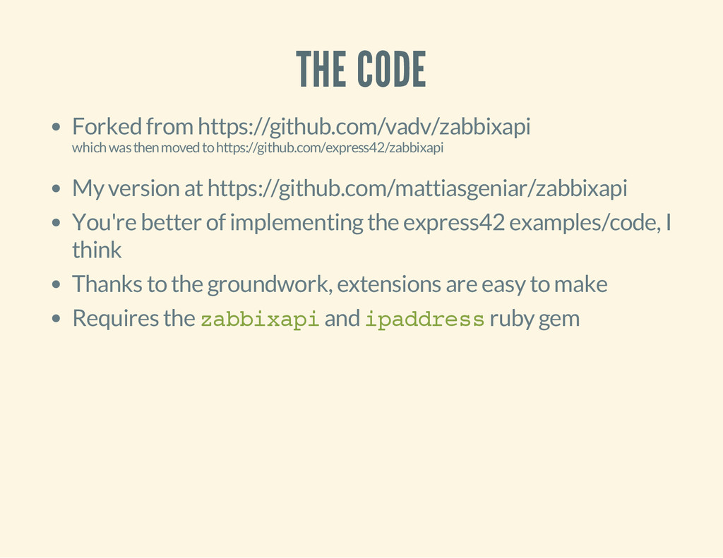THE CODE Forked from https://github.com/vadv/za...
