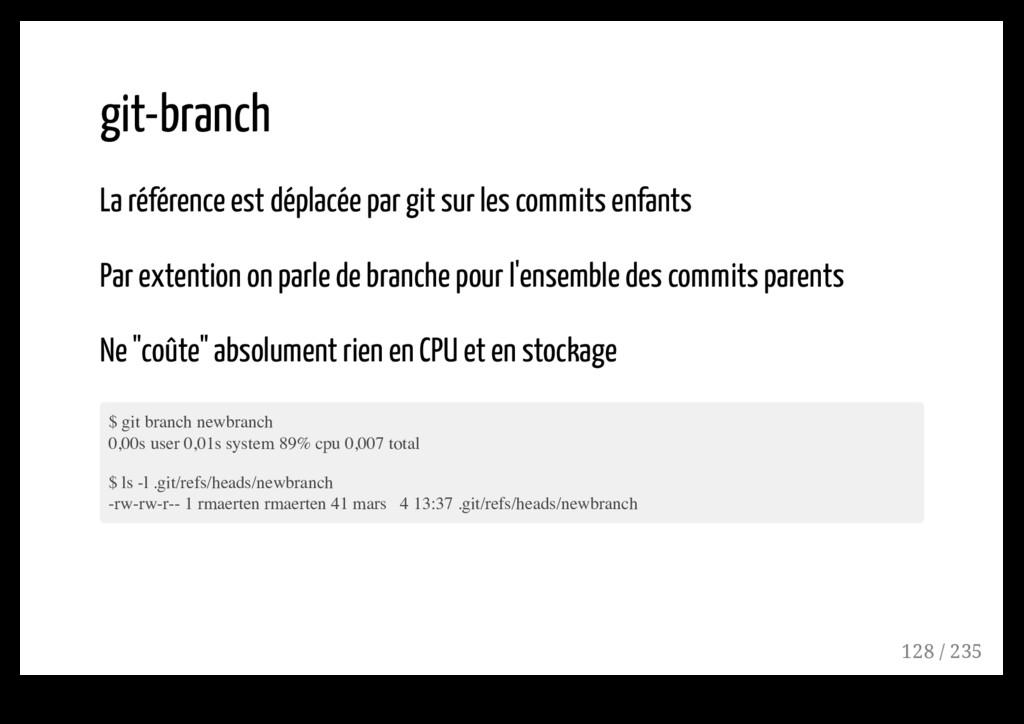 git-branch La référence est déplacée par git su...