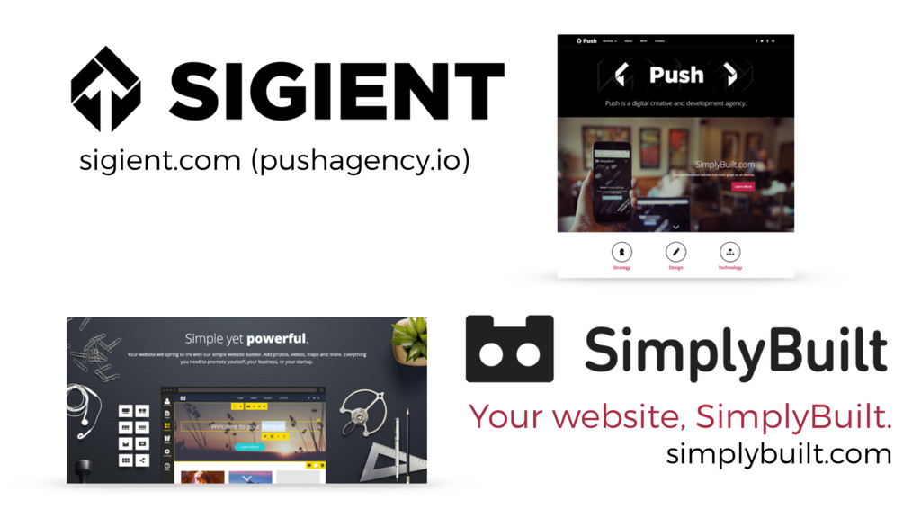 sigient.com (pushagency.io) Your website, Simpl...