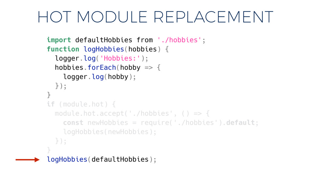 import defaultHobbies from './hobbies'; functio...