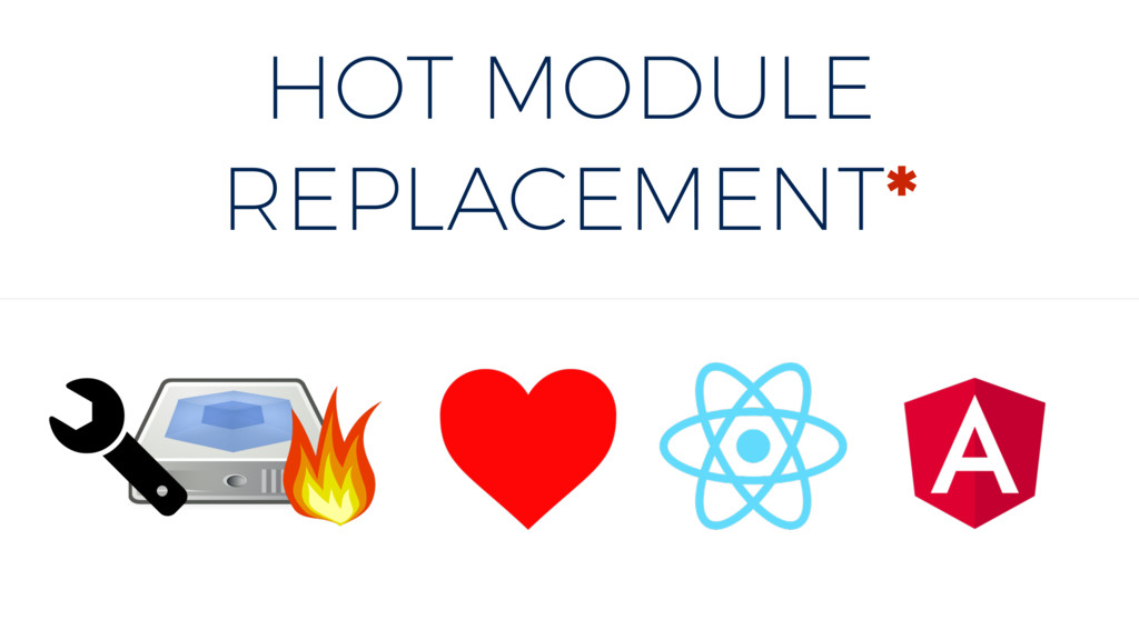 HOT MODULE REPLACEMENT*