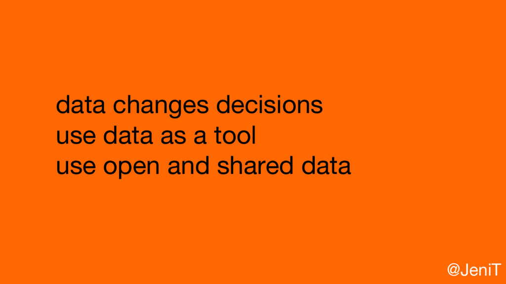 data changes decisions use data as a tool use o...