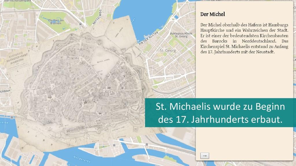 St. Michaelis wurde zu Beginn des 17. Jahrhunde...