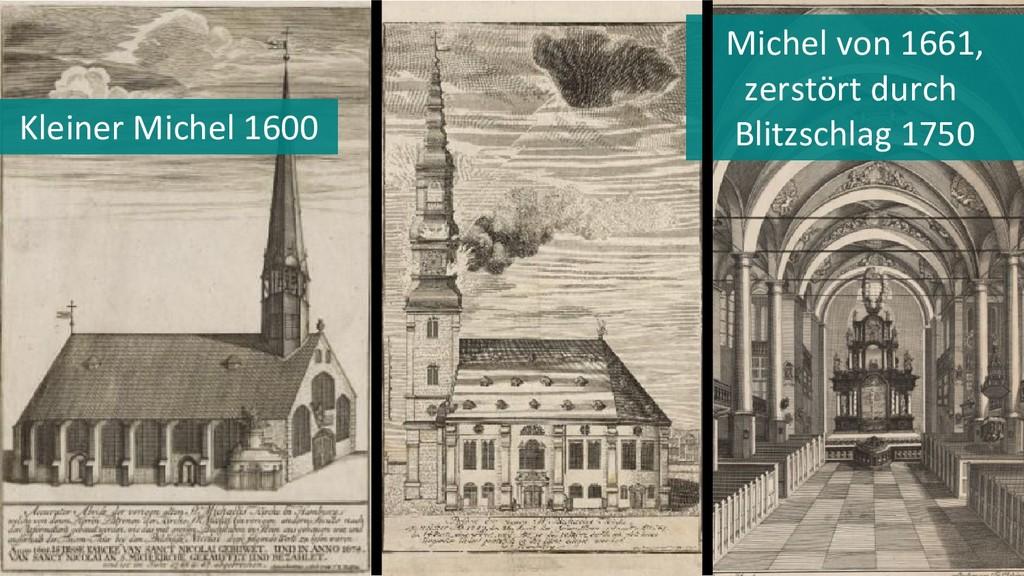 Kleiner Michel 1600 Michel von 1661, zerstört d...