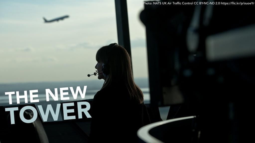 THE NEW Photo: NATS UK Air Traffic Control CC B...