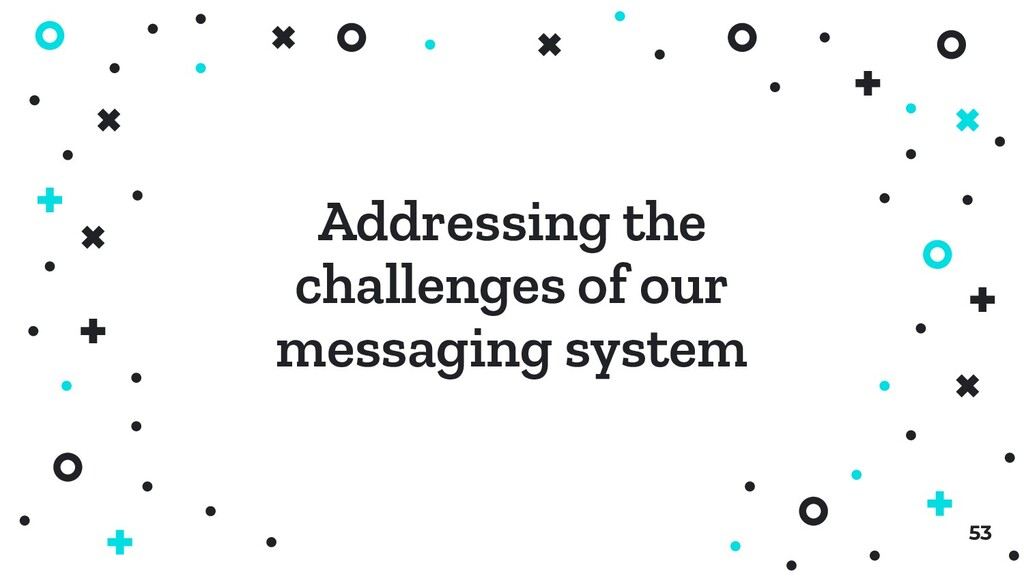 53 Addressing the challenges of our messaging s...