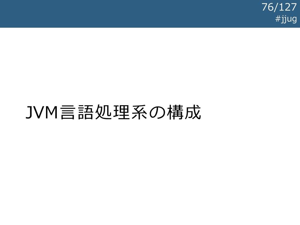 JVM言語処理系の構成 #jjug 76/127