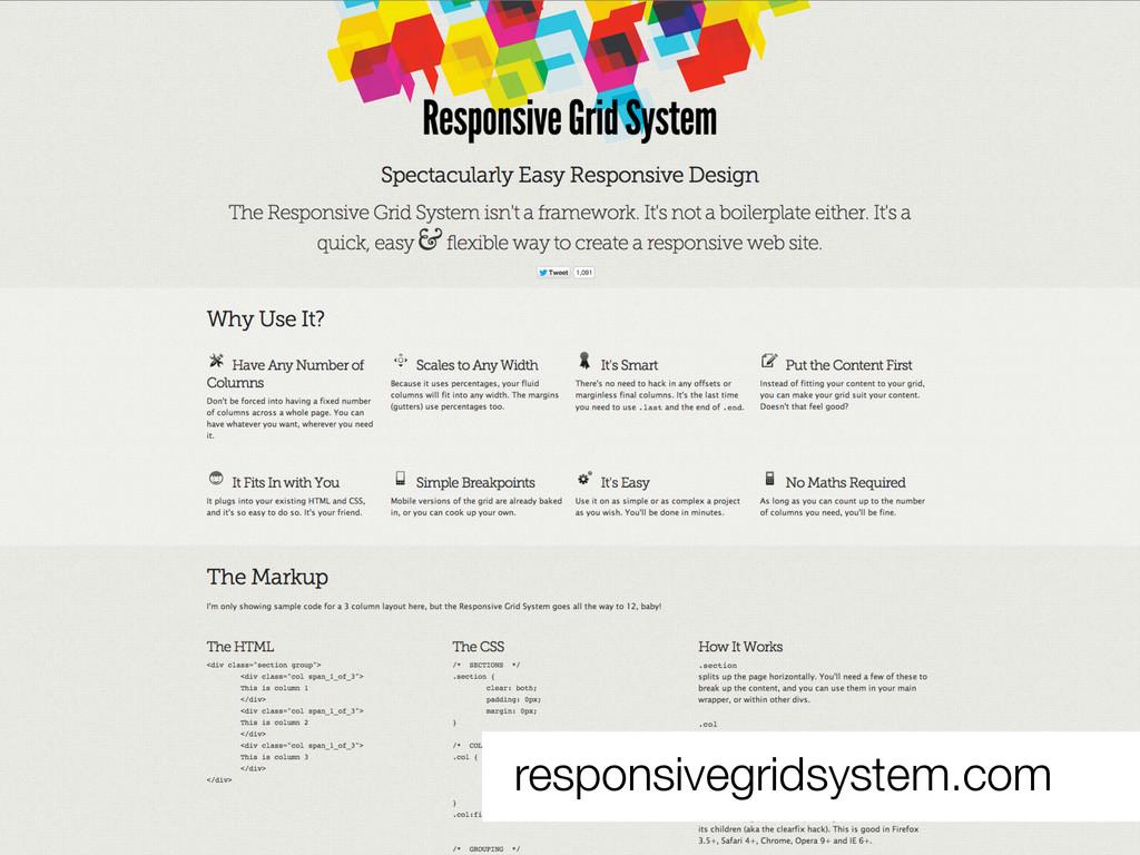 responsivegridsystem.com
