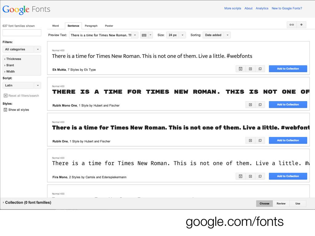 google.com/fonts