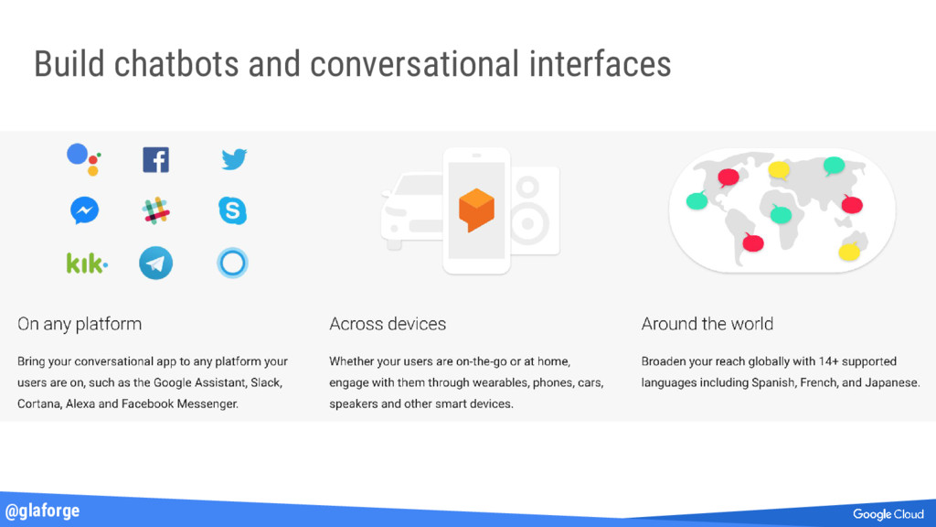 @glaforge Build chatbots and conversational int...