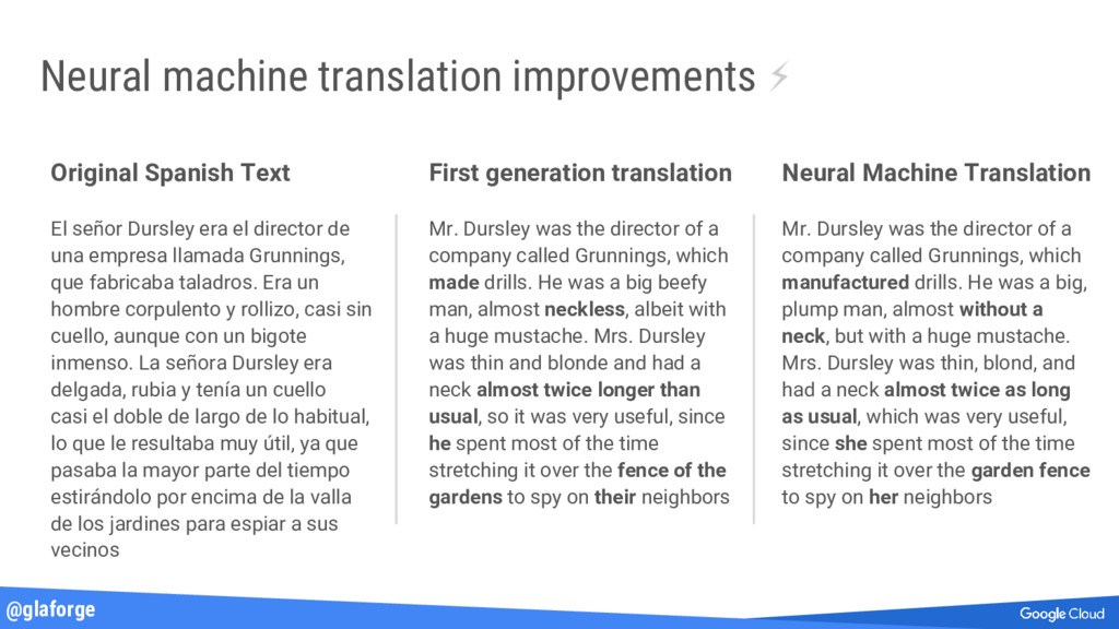 @glaforge Neural machine translation improvemen...