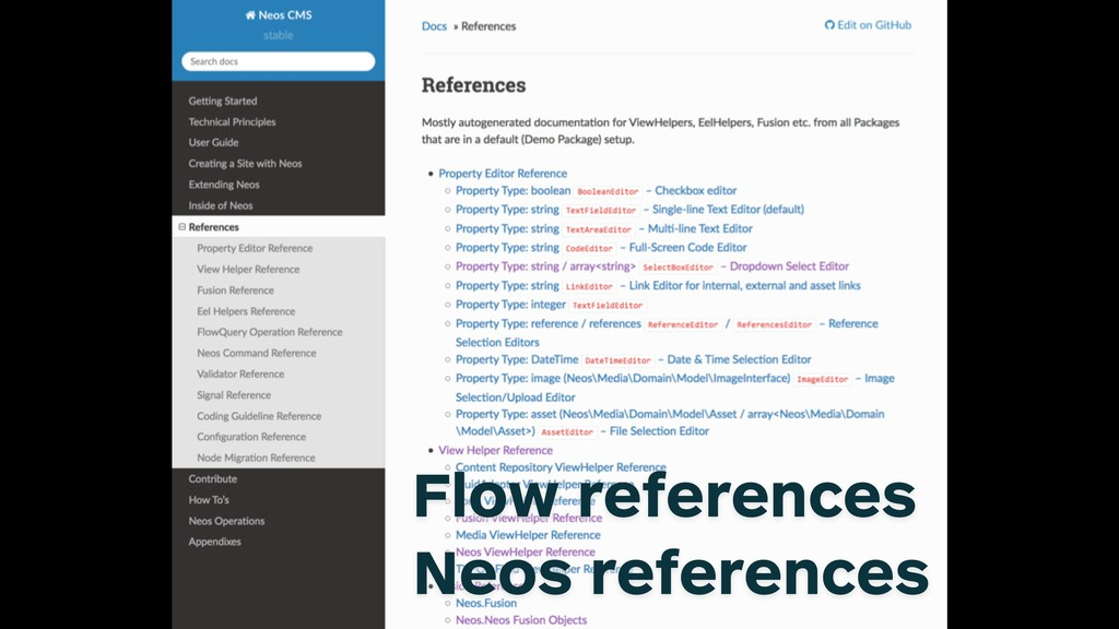 Neos references RTD Flow references Neos refere...