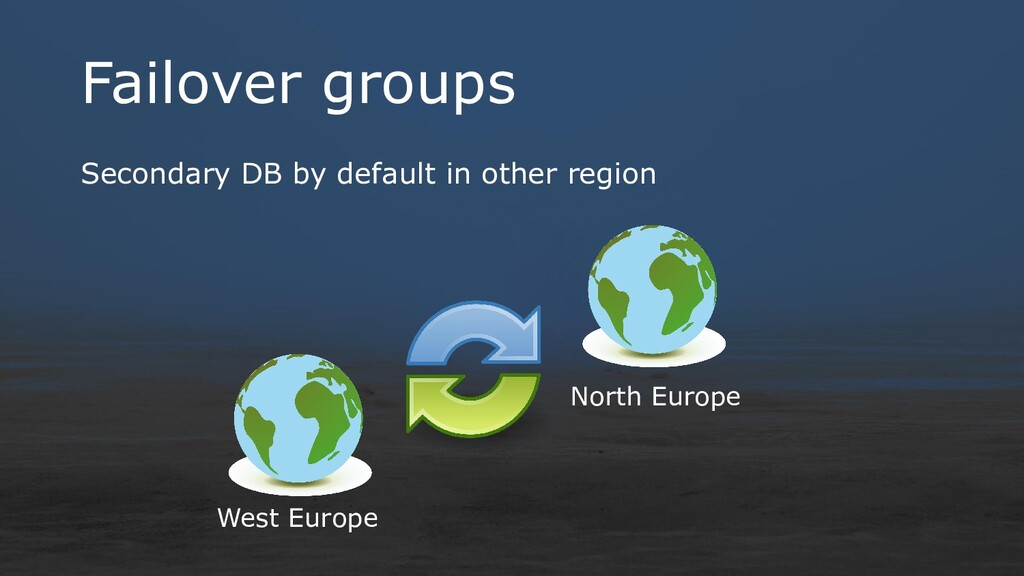 Failover groups Secondary DB by default in othe...
