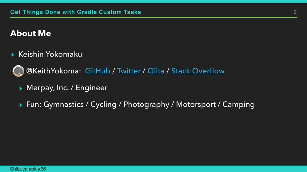 Get Things Done with Gradle Custom Tasks About ...