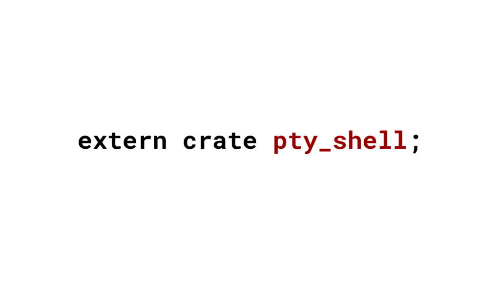 extern crate pty_shell;