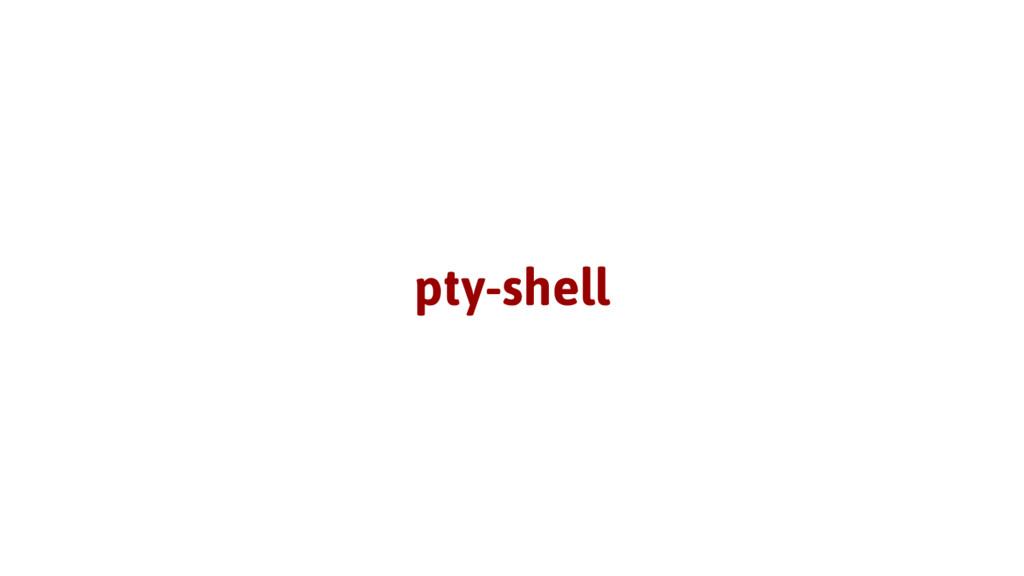 pty-shell