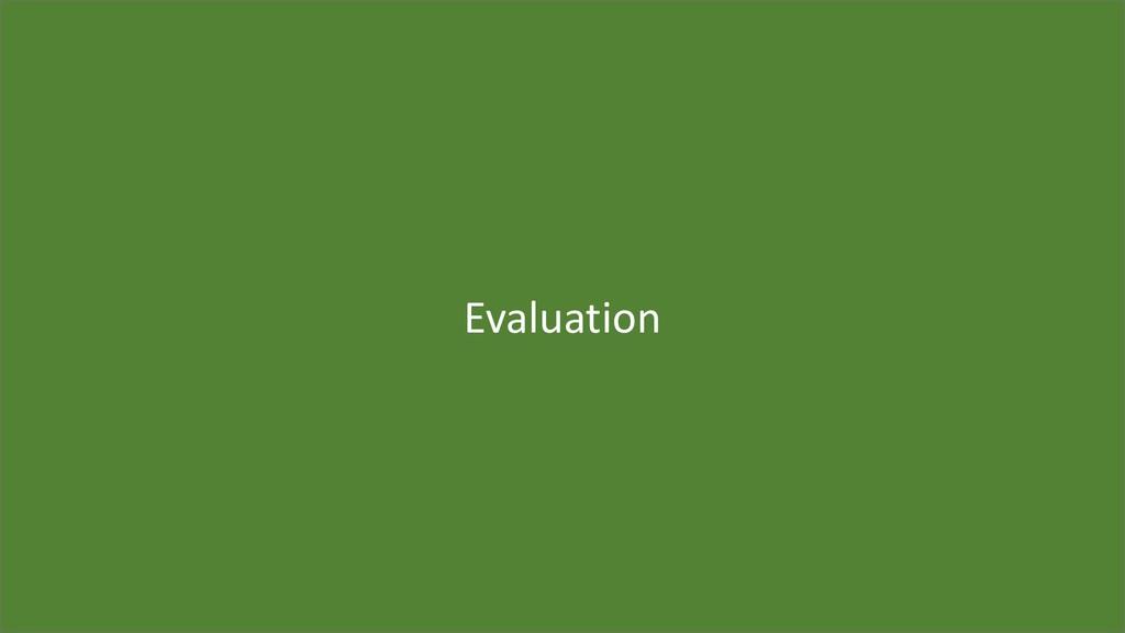 50 Evaluation