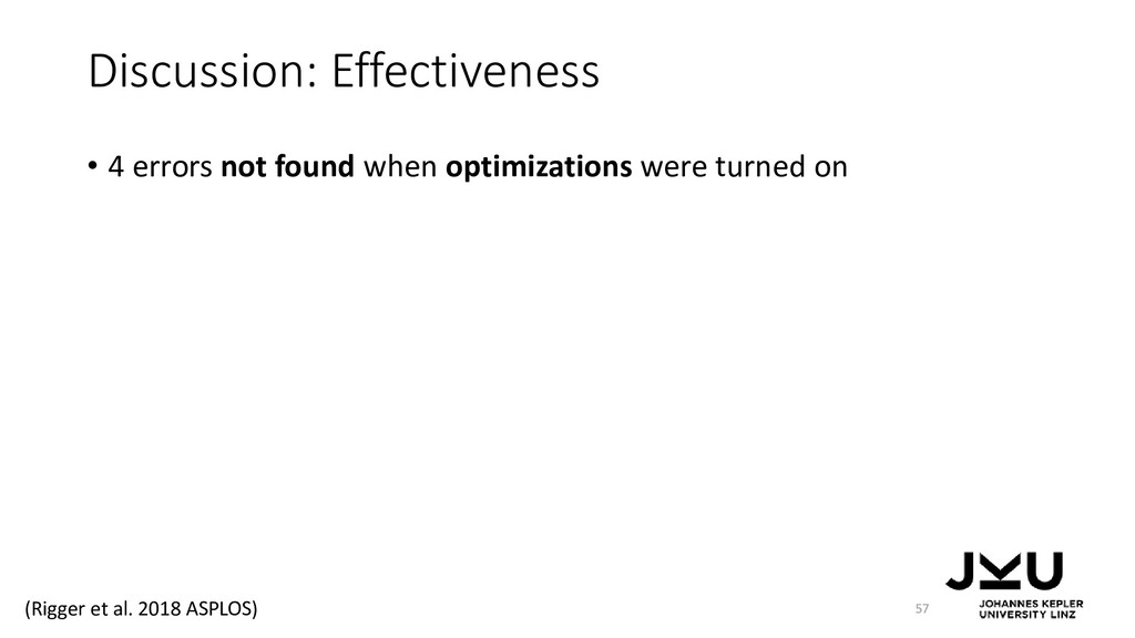 Discussion: Effectiveness • 4 errors not found ...