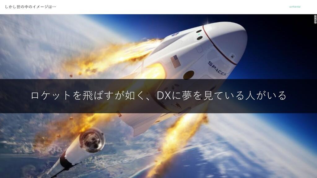 8 © WACUL INC. confidential しかし世の中のイメージは… ロケットを...