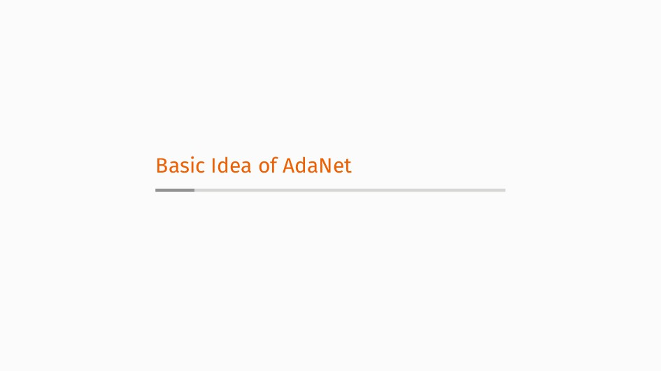 Basic Idea of AdaNet