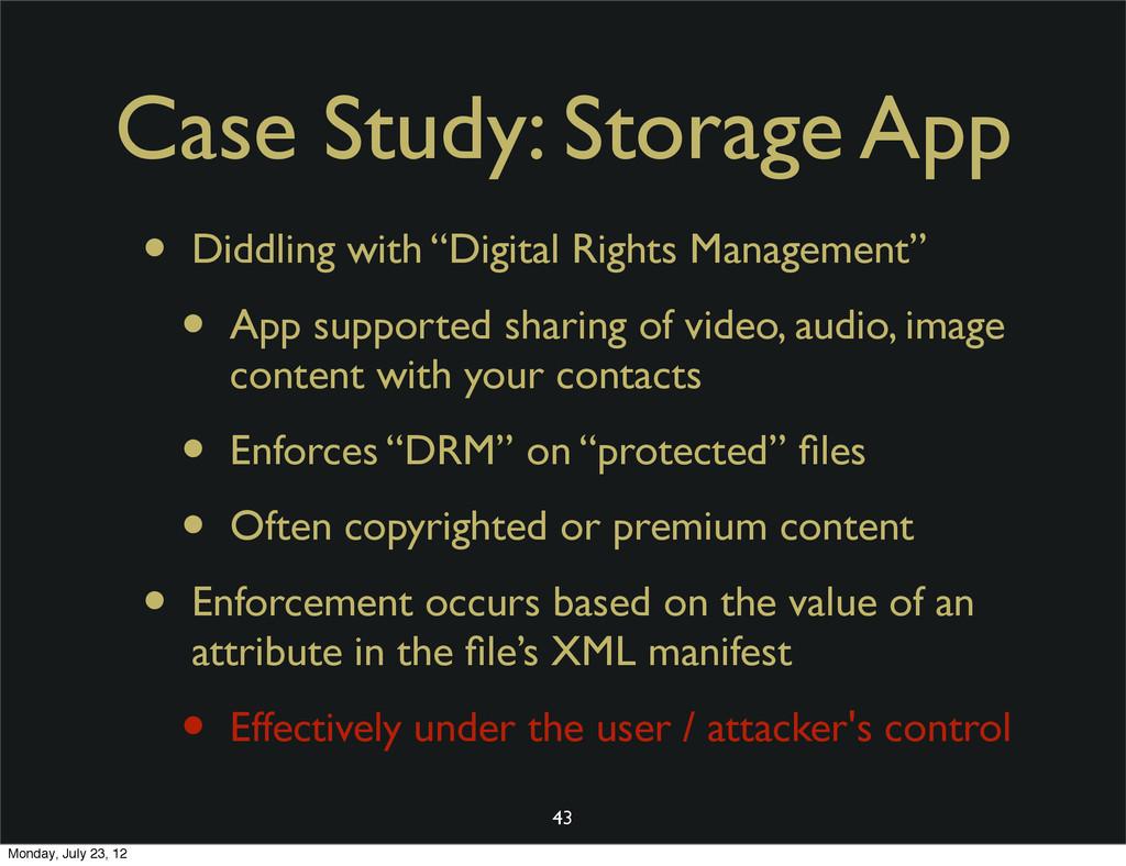 "Case Study: Storage App • Diddling with ""Digita..."