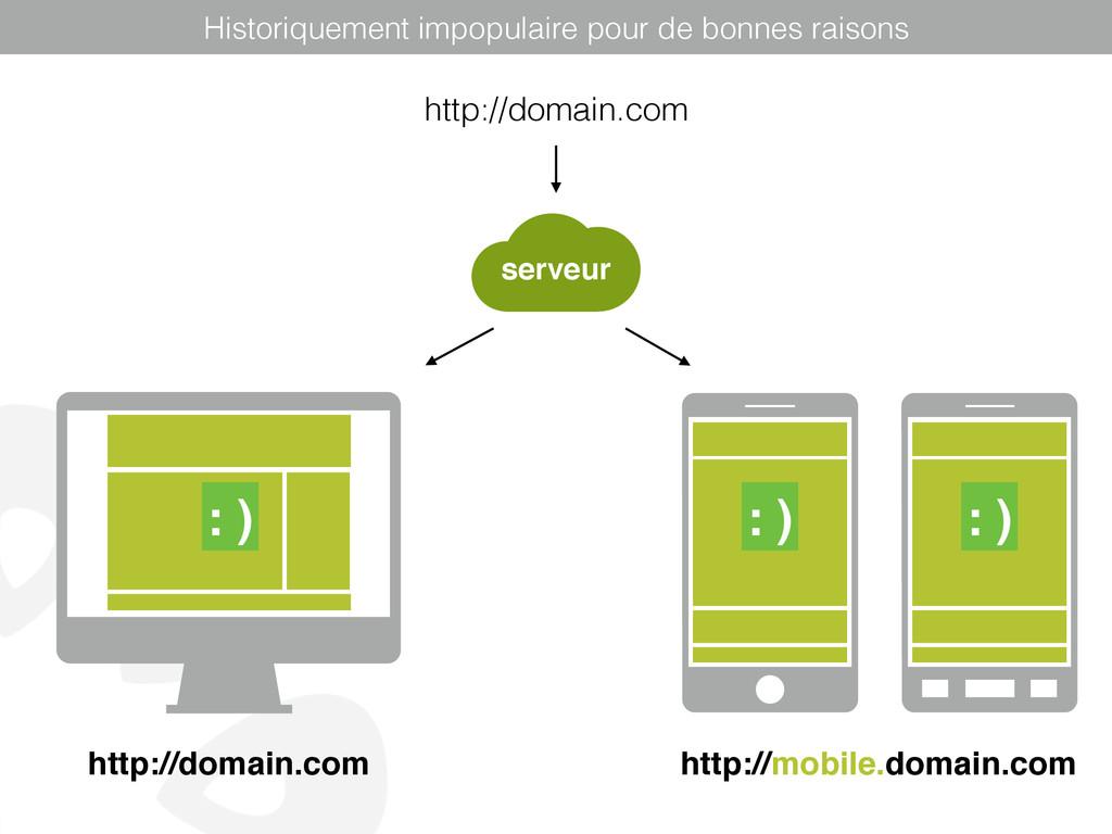 http://domain.com http://mobile.domain.com : ) ...