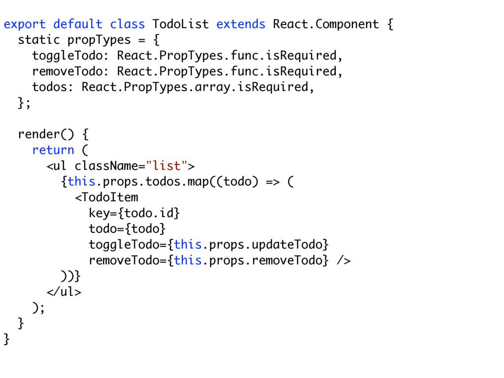 export default class TodoList extends React.Com...