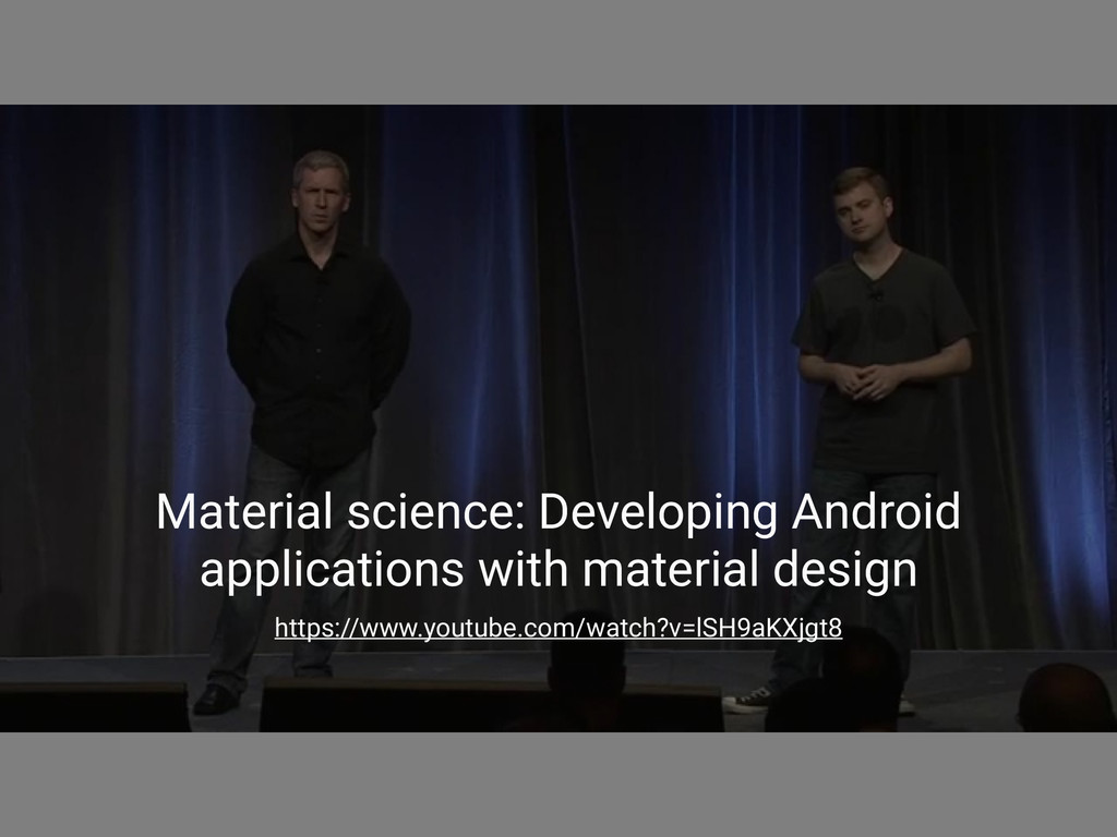 Material science: Developing Android applicatio...