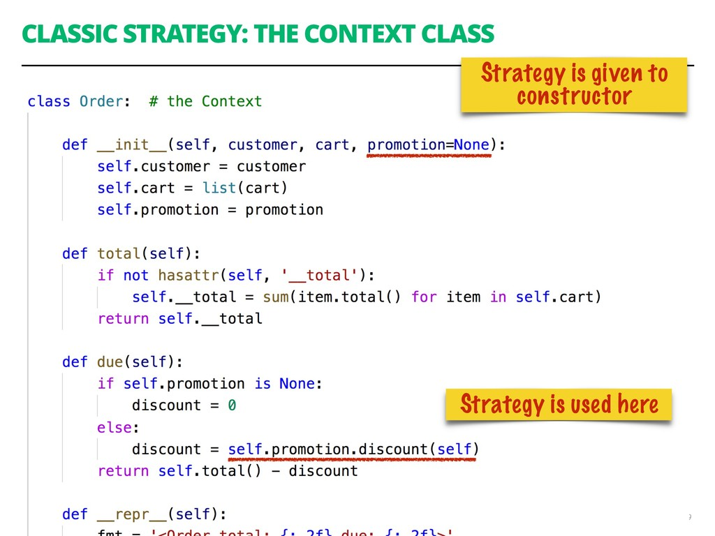 CLASSIC STRATEGY: THE CONTEXT CLASS 59 Strategy...