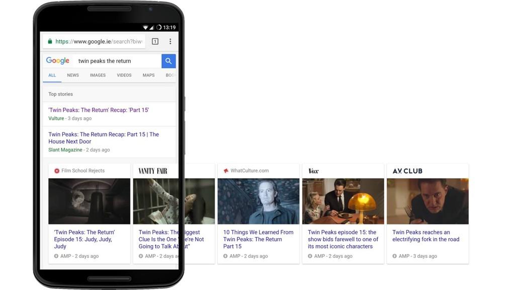 ¿Como preparar un AMP para el Google Search?