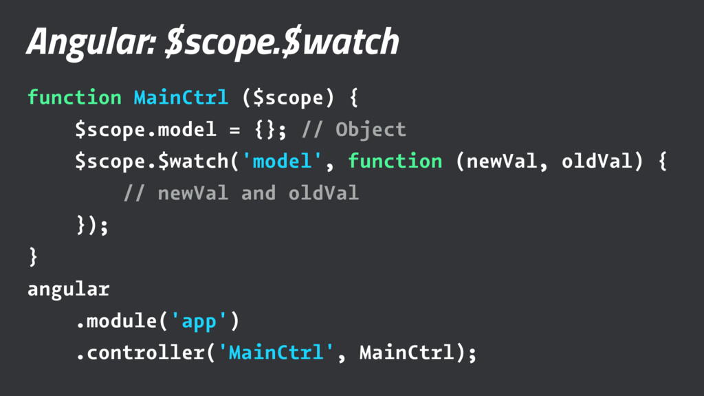 Angular: $scope.$watch function MainCtrl ($scop...