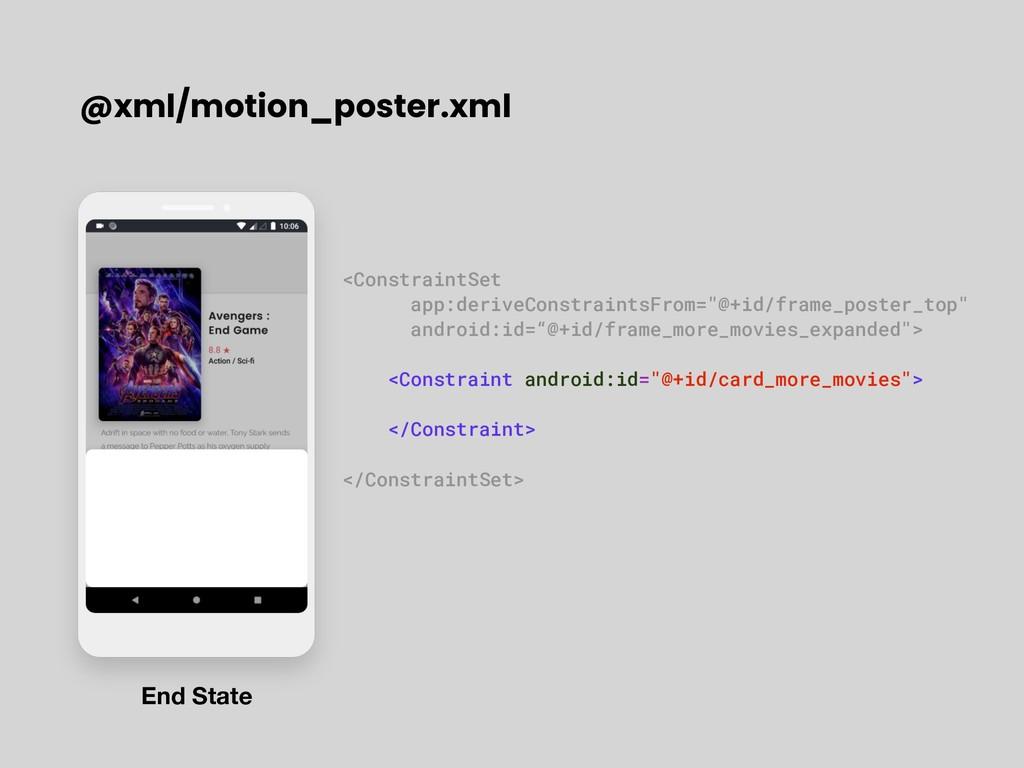 """<ConstraintSet app:deriveConstraintsFrom=""""@+id/..."""