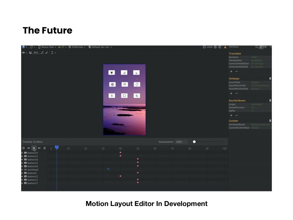 The Future Motion Layout Editor In Development