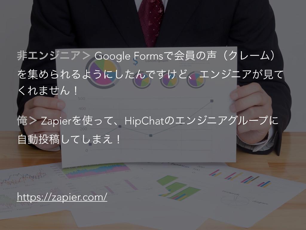 ඇΤϯδχΞ' Google FormsͰձһͷʢΫϨʔϜʣ ΛूΊΒΕΔΑ͏ʹͨ͠ΜͰ͚͢...