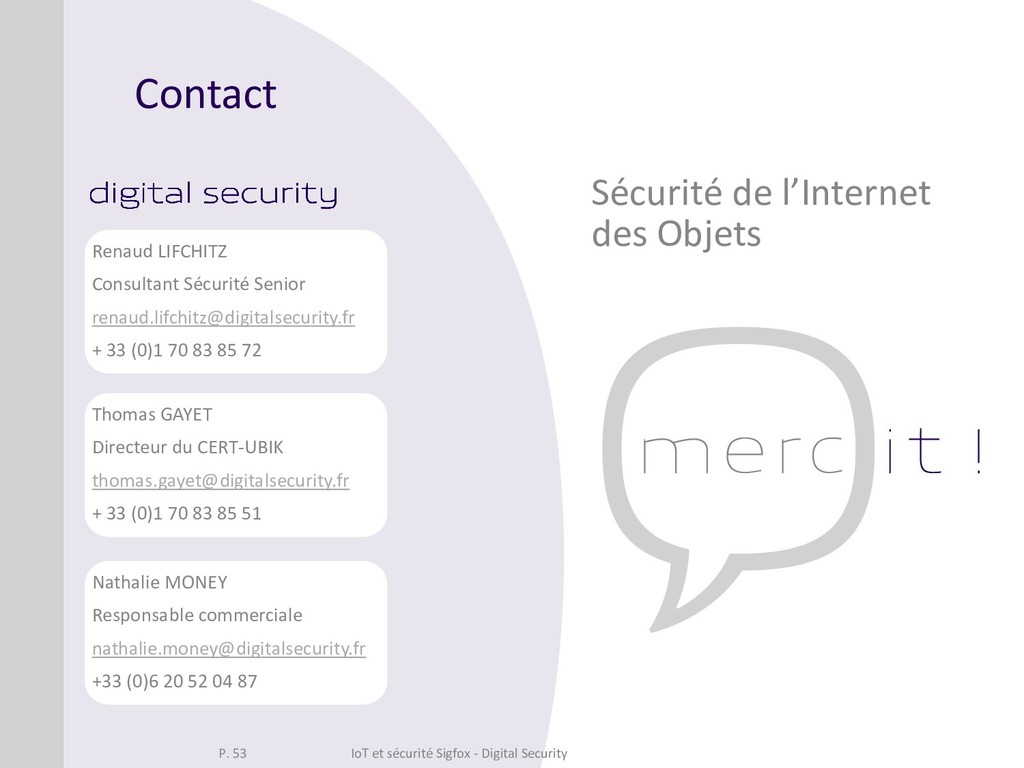 Contact Nathalie MONEY Responsable commerciale ...
