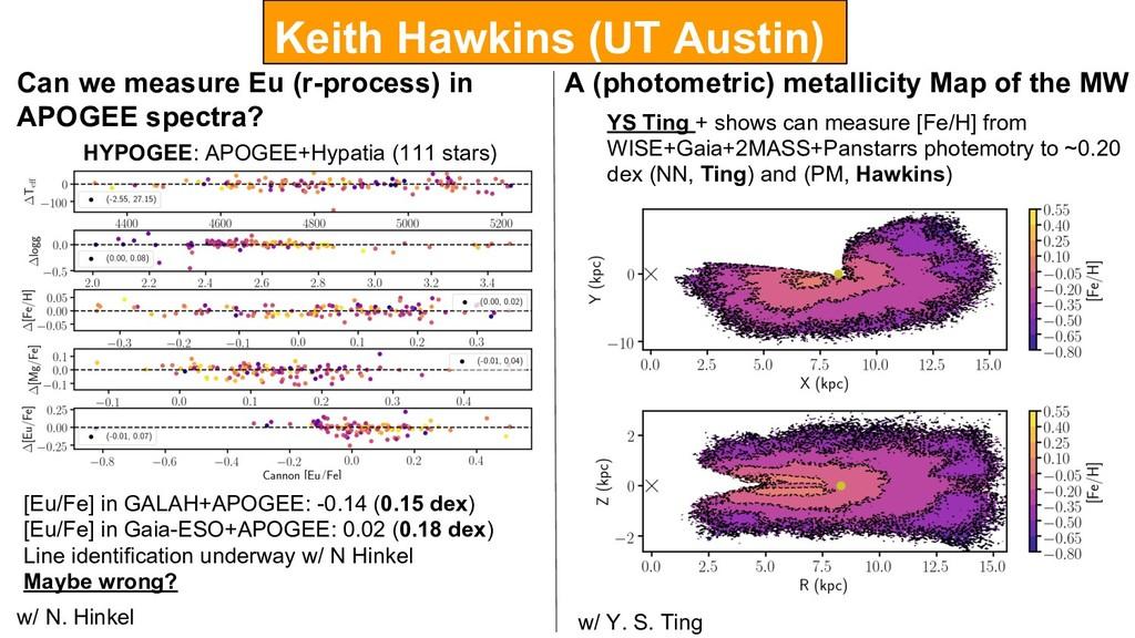 Keith Hawkins (UT Austin) Can we measure Eu (r-...