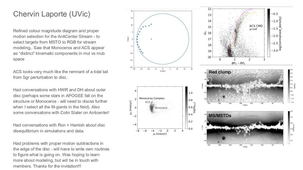Chervin Laporte (UVic) Refined colour magnitude...