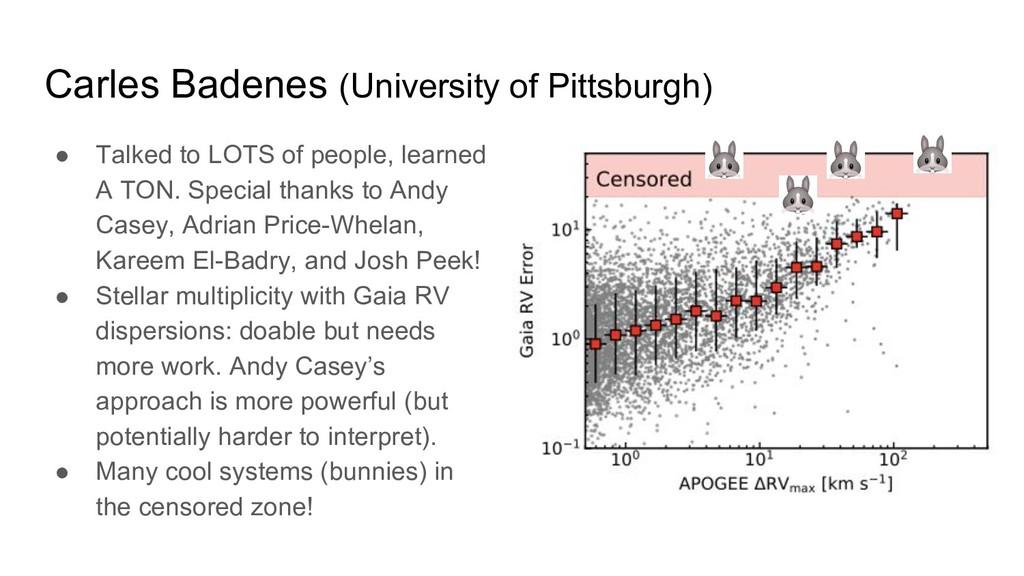 Carles Badenes (University of Pittsburgh) ● Tal...
