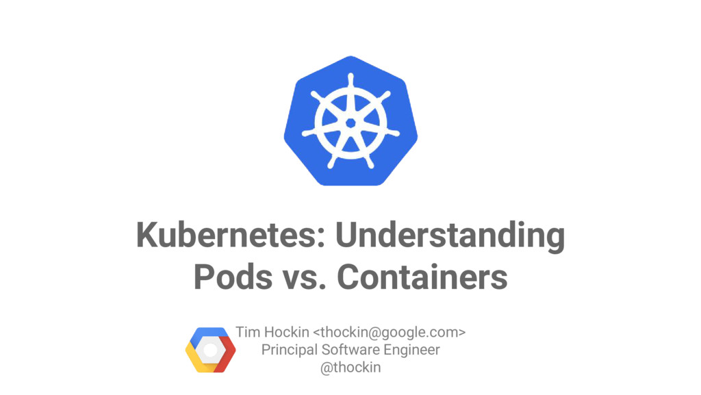 Google Cloud Platform Kubernetes: Understanding...