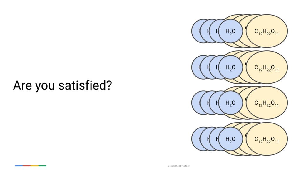 Google Cloud Platform Are you satisfied? H 2 O ...