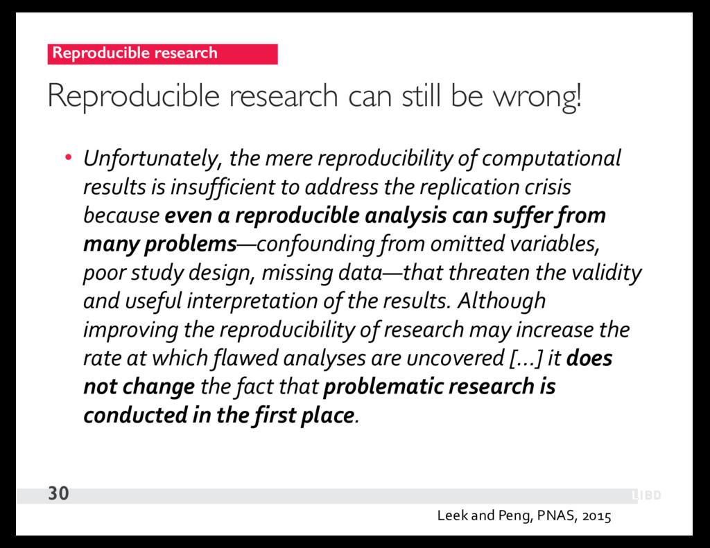 Reproducible research 30 Reproducible research ...
