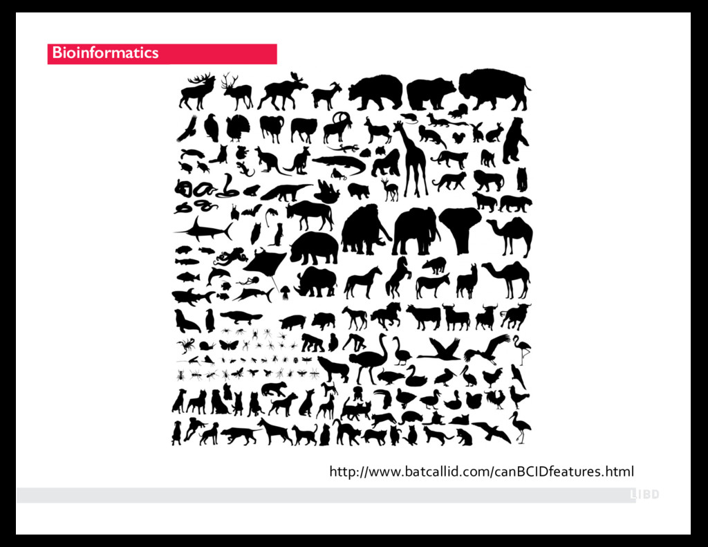 Bioinformatics http://www.batcallid.com/canBCID...