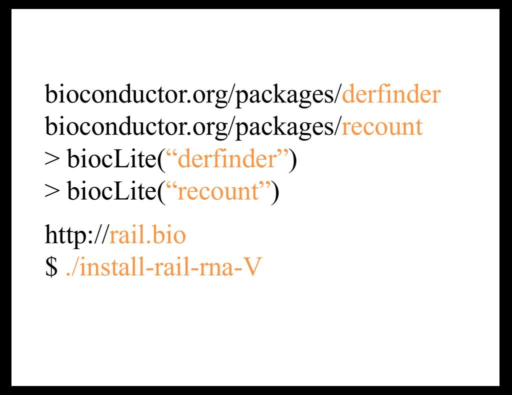 bioconductor.org/packages/derfinder bioconducto...