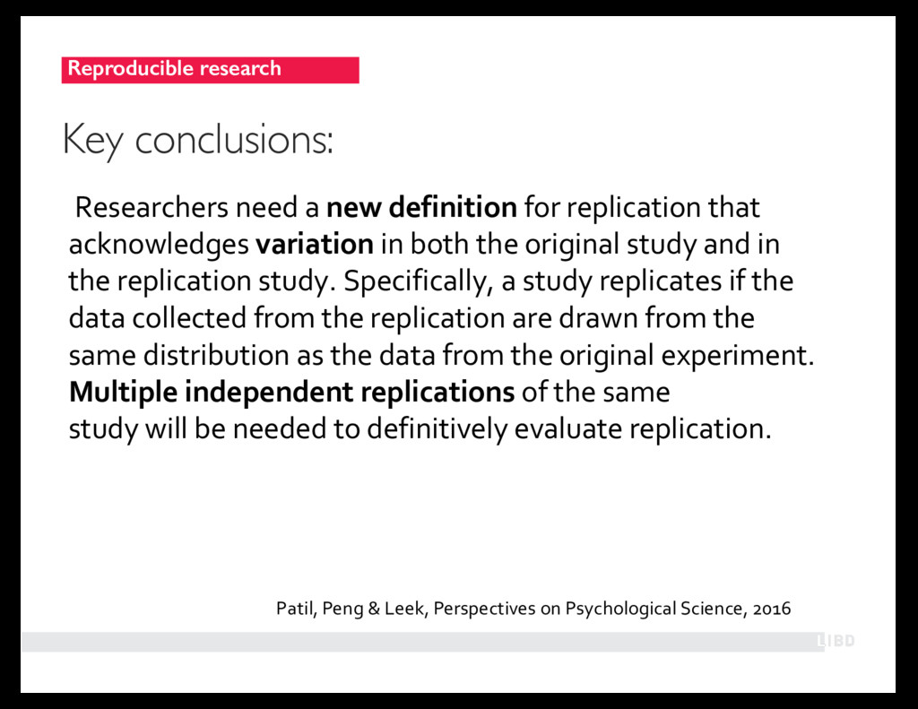 Researchers need a new definition for replicati...