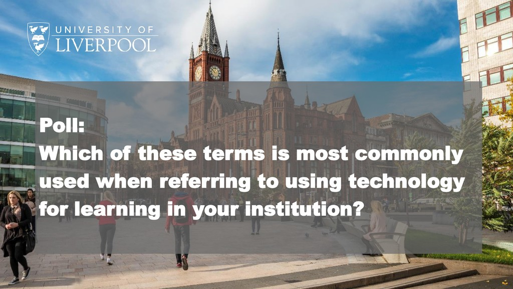 Poll: Which of these terms is most commonly use...