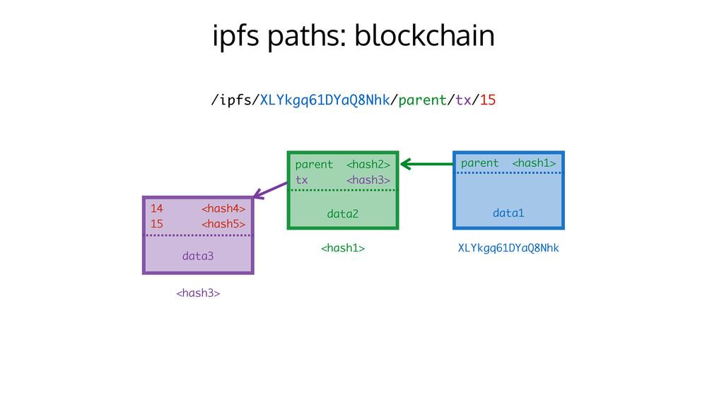 ipfs paths: blockchain /ipfs/XLYkgq61DYaQ8Nhk/p...